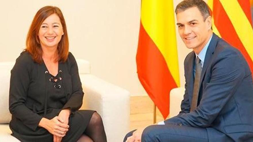 Armengol verkündet finanzielle Sonderbehandlung für Mallorca