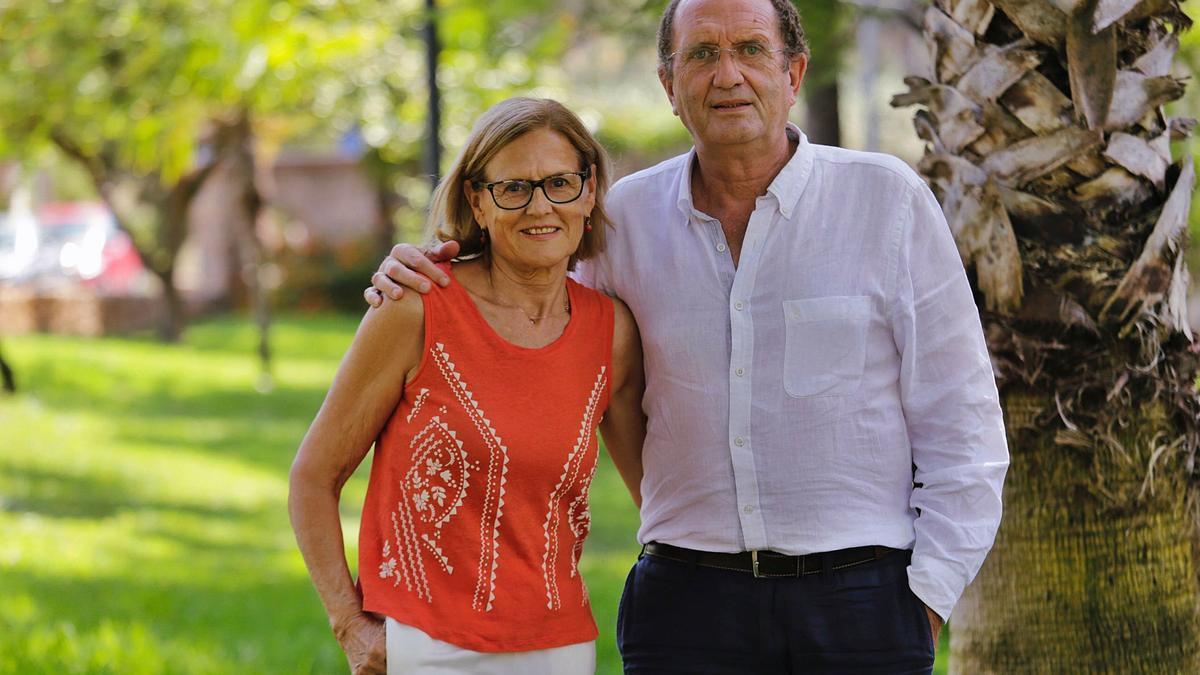 Marisol Suanzes y Carlos Abadía.