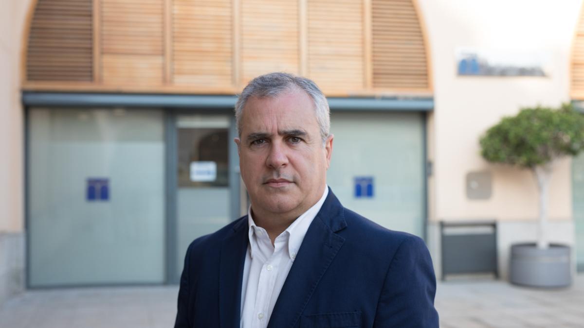 Javier Prieto, director-gerente de la empresa mixta Aigües d'Elx.