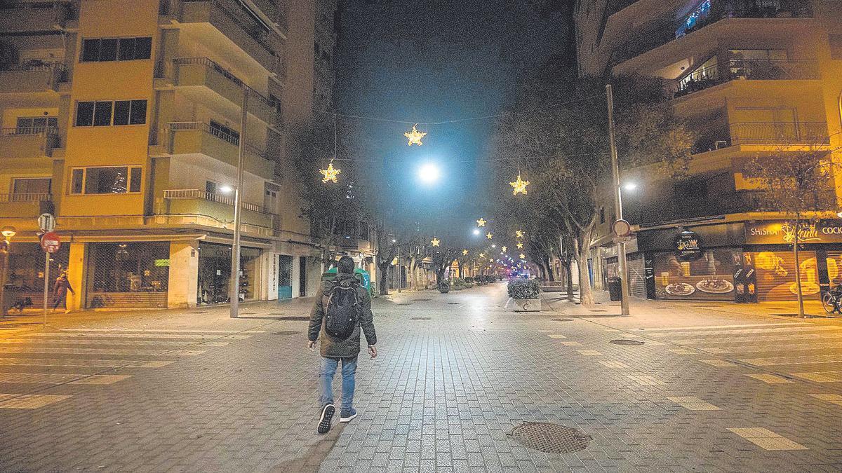 Toque de queda en Mallorca.