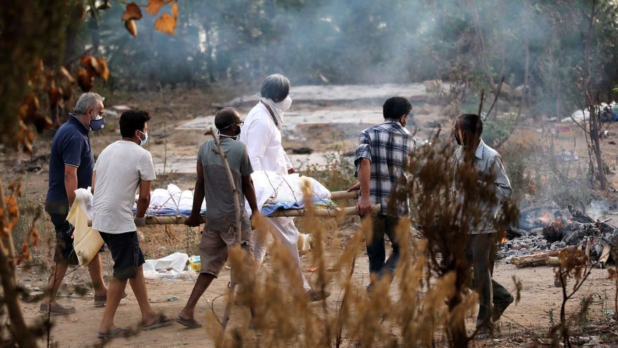 Nuevo récord de muertes por coronavirus en India