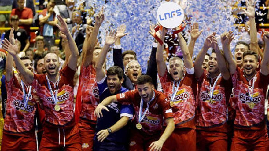 ElPozo conquista la Supercopa de España de fútbol sala