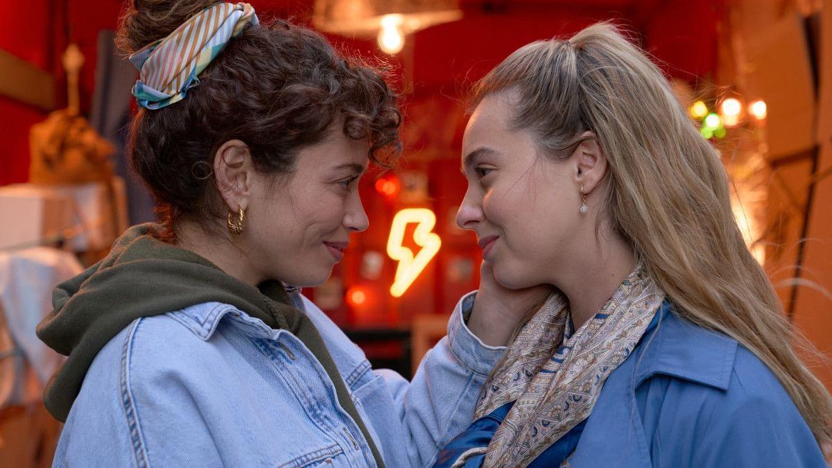 Carol Rovira y Paula Usero, en la cuarta temporada de '#Luimelia'.