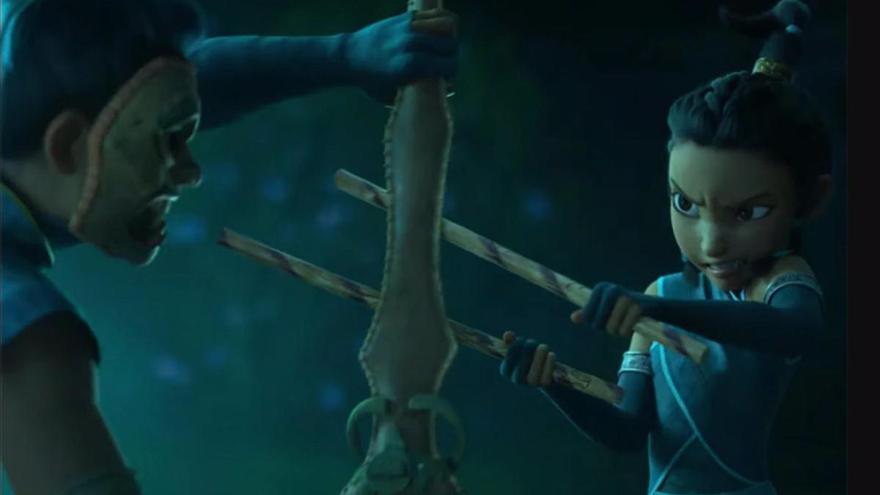 Así es el espectacular tráiler de 'Raya y el último dragón', la nueva guerrera de Disney