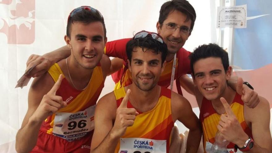 Miguel Ángel López regresa al podio con una plata y España gana el oro