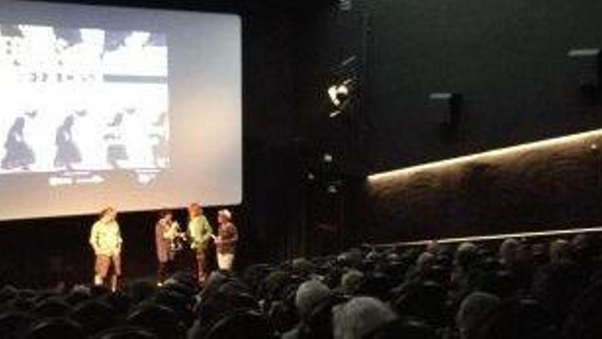 Un documental sobre l'esclavitud a Níger omple l'Ateneu Cinema d'Igualada
