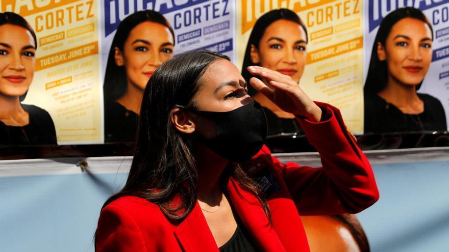 Ocasio-Cortez se impone en las primarias en Nueva York