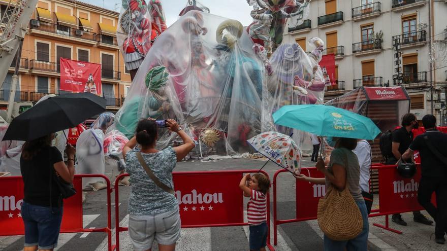 El tiempo en Fallas: Cuándo y cuánto descargará el temporal en València