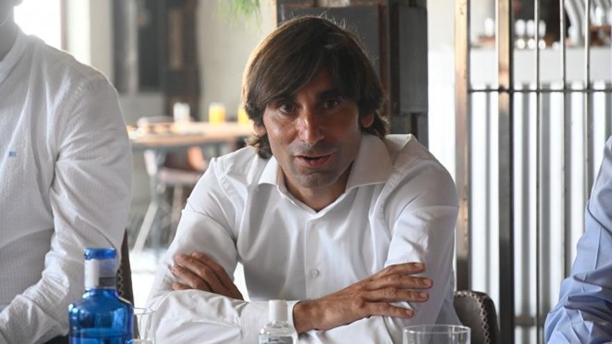 """Pedro Menéndez, en su adiós al Racing: """"Cumplimos los objetivos"""""""