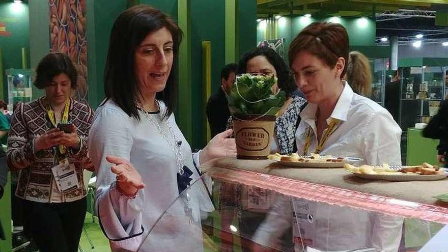 Dona Cobiña lleva sus quesos a la feria Alimentaria