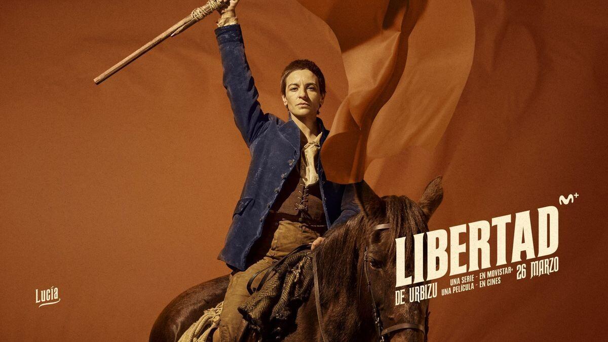Cartel de 'Libertad'.