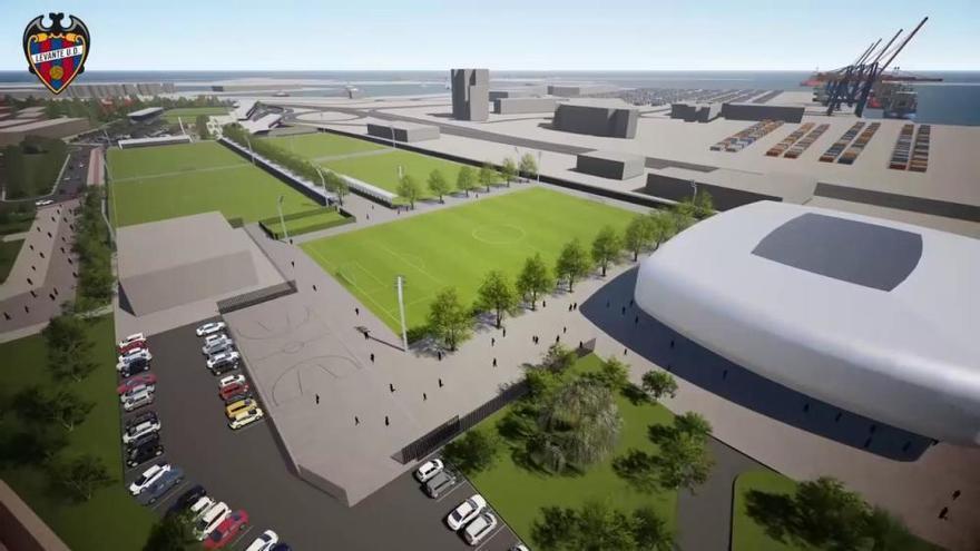 Así será la nueva ciudad deportiva del Levante UD en Nazaret