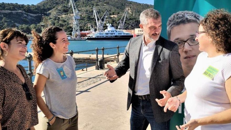 Urralburu apuesta por los Cercanías y el Corredor Mediterráneo