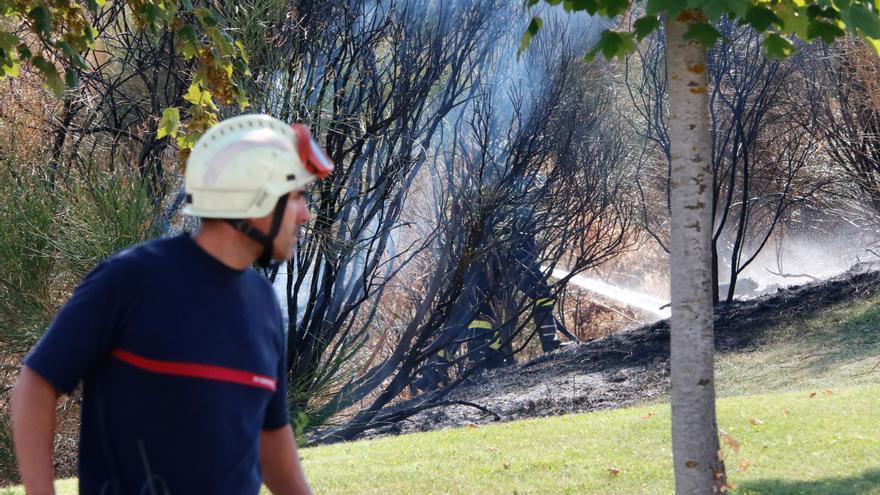 Dos fuegos, uno en La Raya con Zamora y otro en Burganes, en las últimas 24 horas