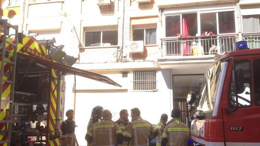 Se incendia la cocina de una vivienda en San Antón