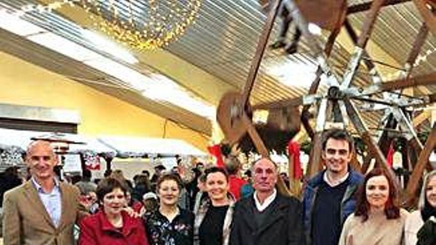 Éxito de la primera edición del Mercado de Nadal de Curtis