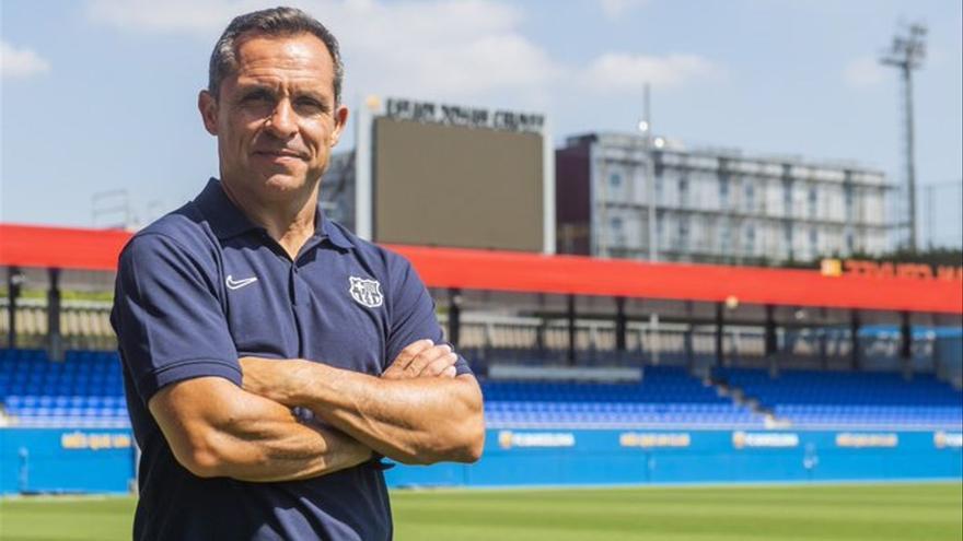 Sergi Barjuan, nuevo entrenador interino del Barcelona