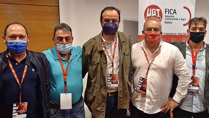 UGT-FICA del Nalón renueva ejecutiva, con Manuel Menéndez al frente