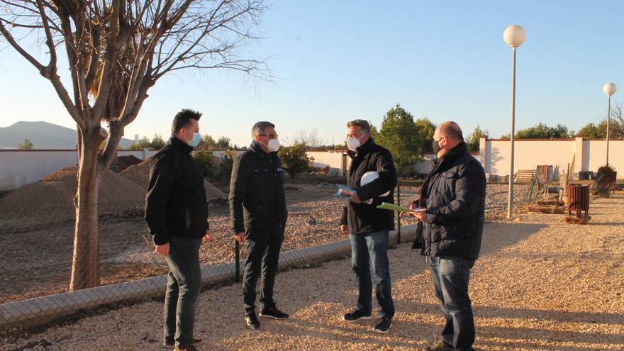 L'Alfàs amplía el cementerio municipal con un nuevo pabellón con 126 nichos