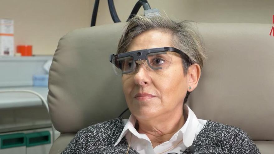 Investigadores de la UMH de Elche estimulan la visión en una persona ciega para que perciba formas y letras