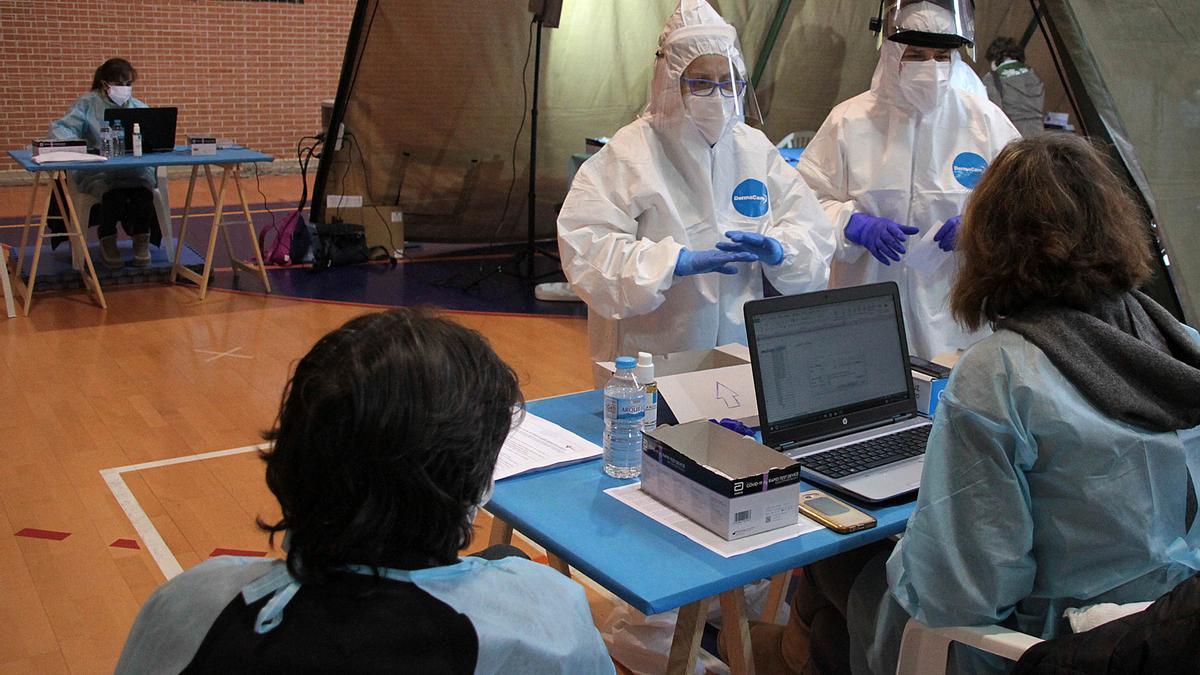 Test diagnóstico del coronavirus