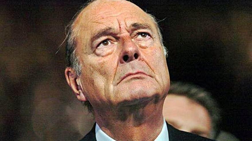 Fallece a los 86 años el expresidente francés Chirac, último sucesor de De Gaulle