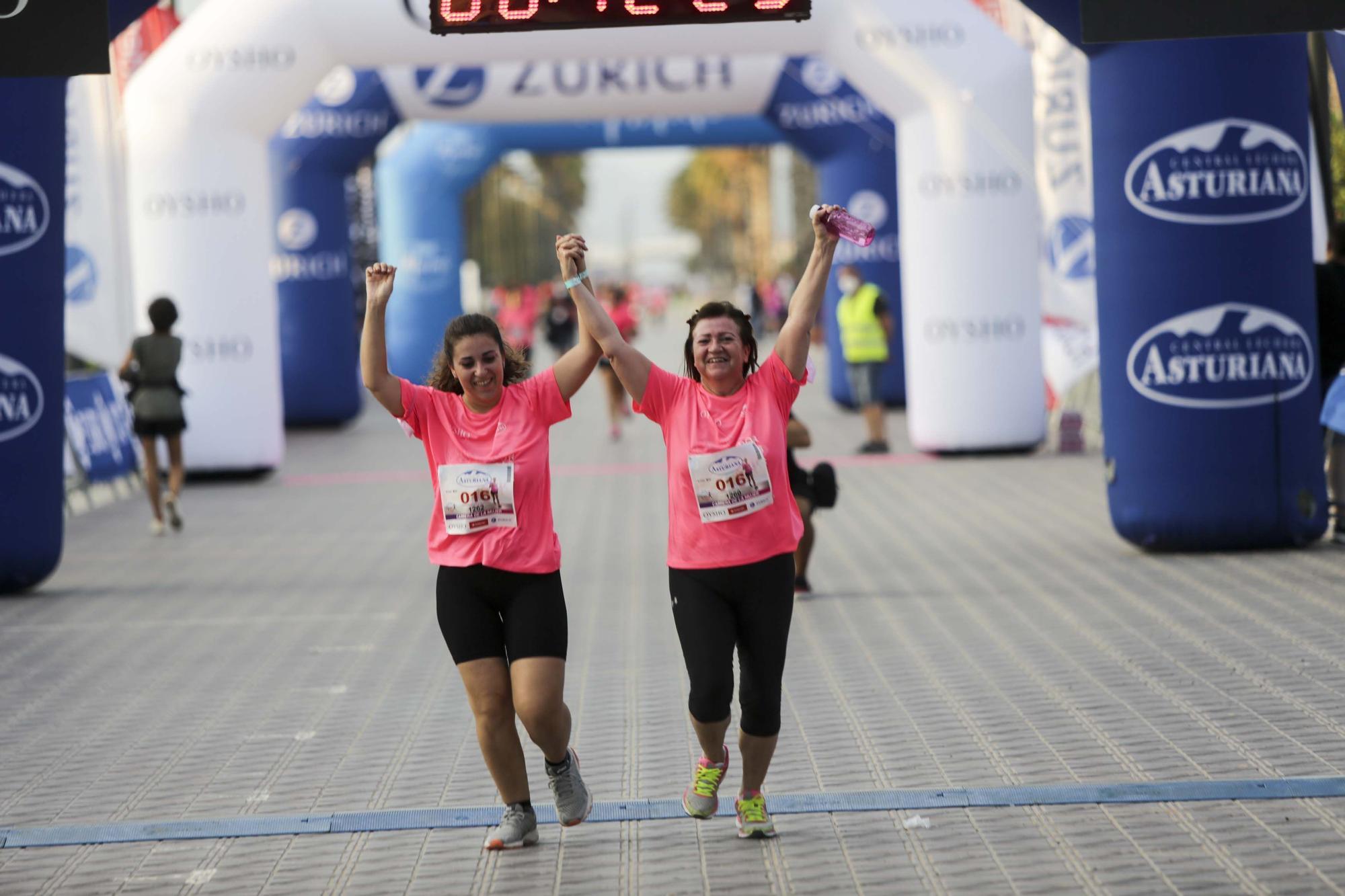 Las mejores imágenes de la carrera de la Mujer en València