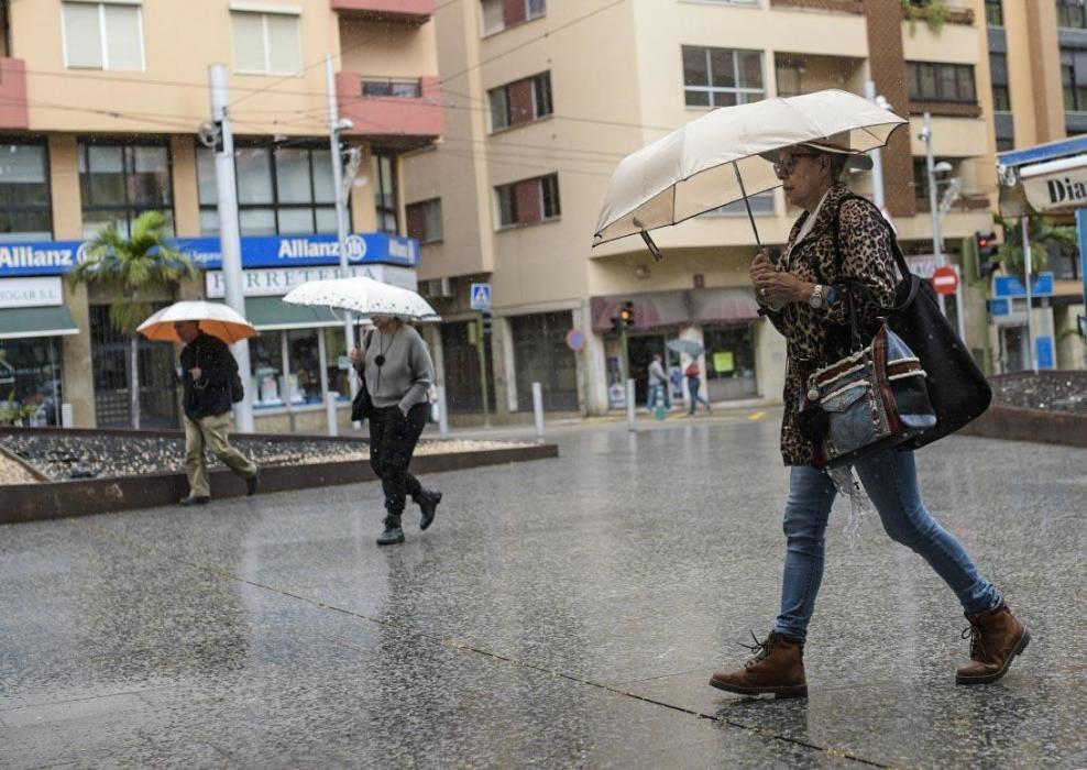 Temporal de viento, lluvia y oleaje en Tenerife