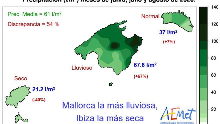 Der Herbst auf Mallorca wird etwas trockener als gewohnt
