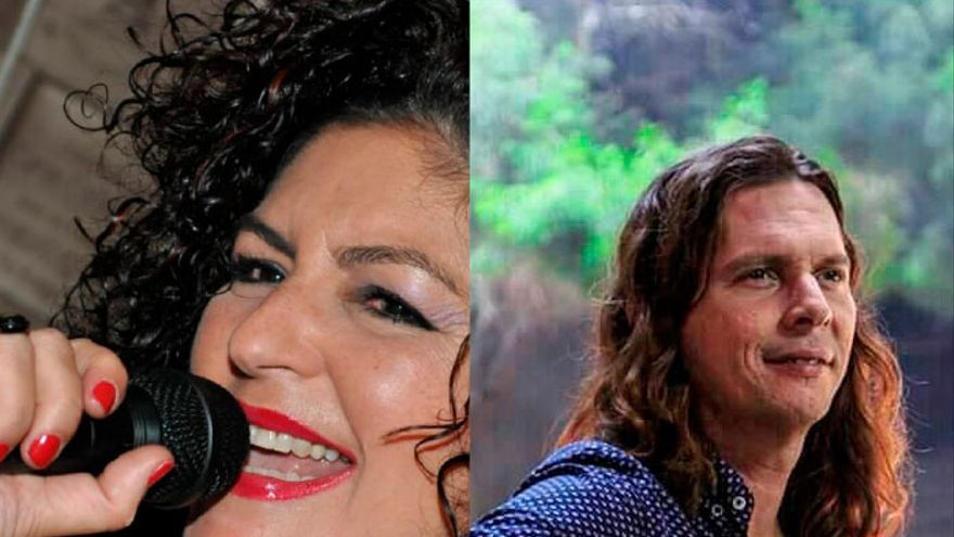Carmen Sánchez y Reynier Mariño