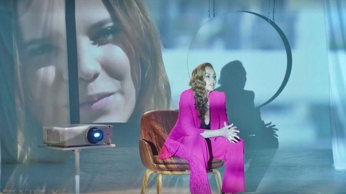 Rocio Carrasco, en el documental.