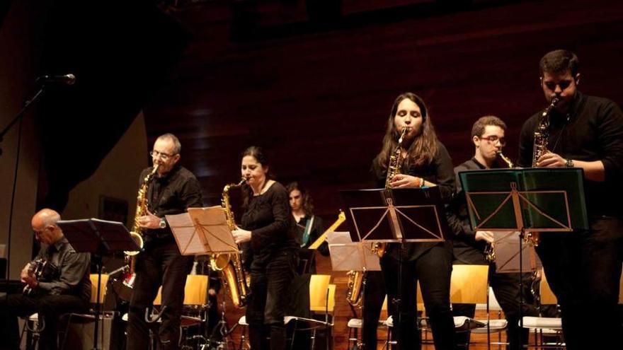 Concierto de la Big Band de Llanera