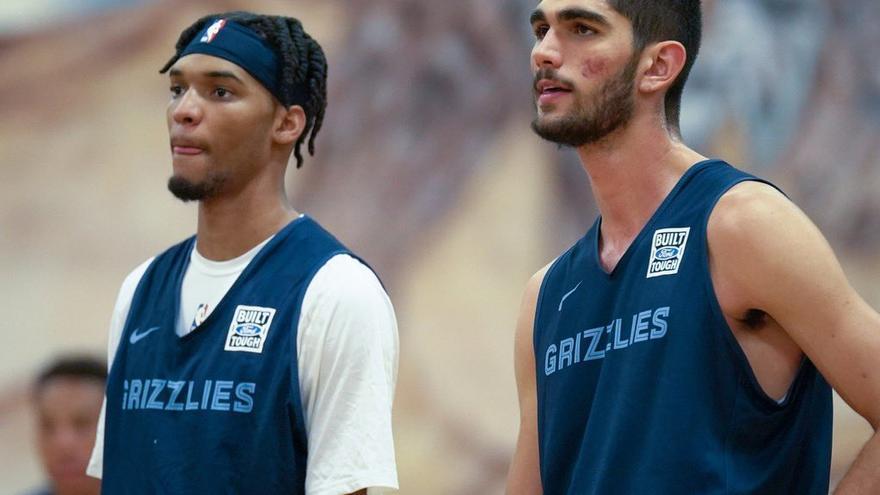 El español Santi Aldama firma por tres años con los Memphis Grizzlies de la NBA