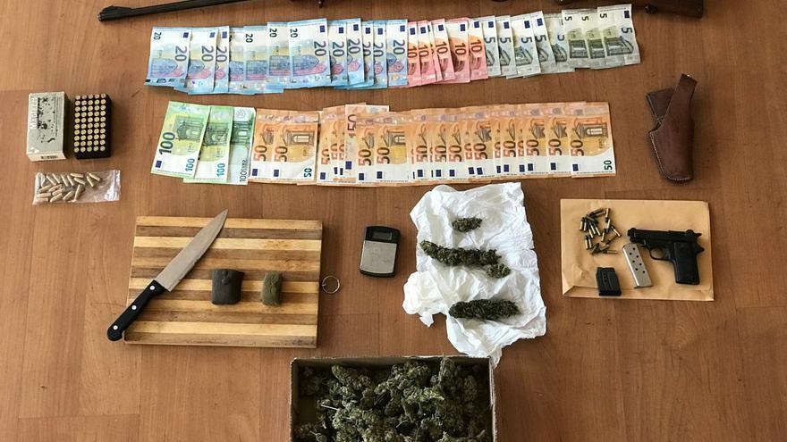 Ofensiva policial para desarmar a los narcos de Palma