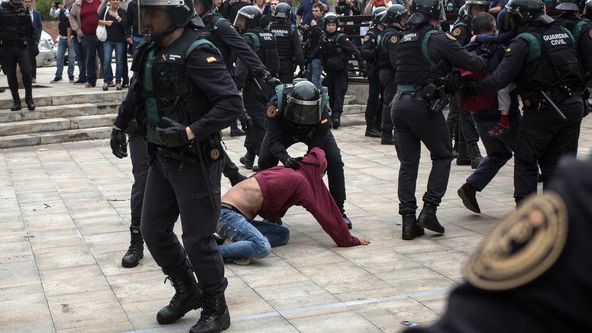 L'actuació policial de l'1-O a Sant Julià de Ramis