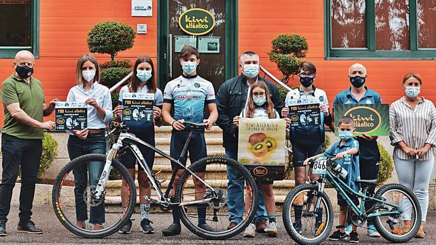 Ribadumia y el ciclismo de montaña vuelven a coincidir