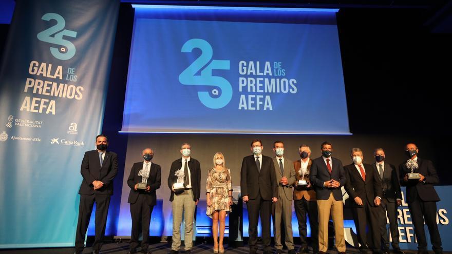 Impulso a la empresa familiar en los XXV Premios AEFA