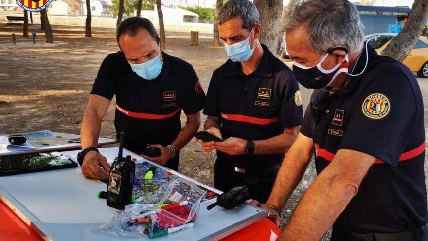 Dispositivo de búsqueda del joven desaparecido en Paterna