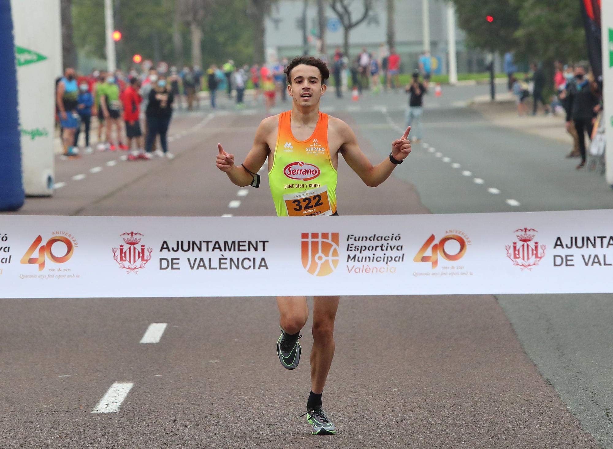 Búscate en 'València corre', la primera carrera popular de la ciudad de la pandemia
