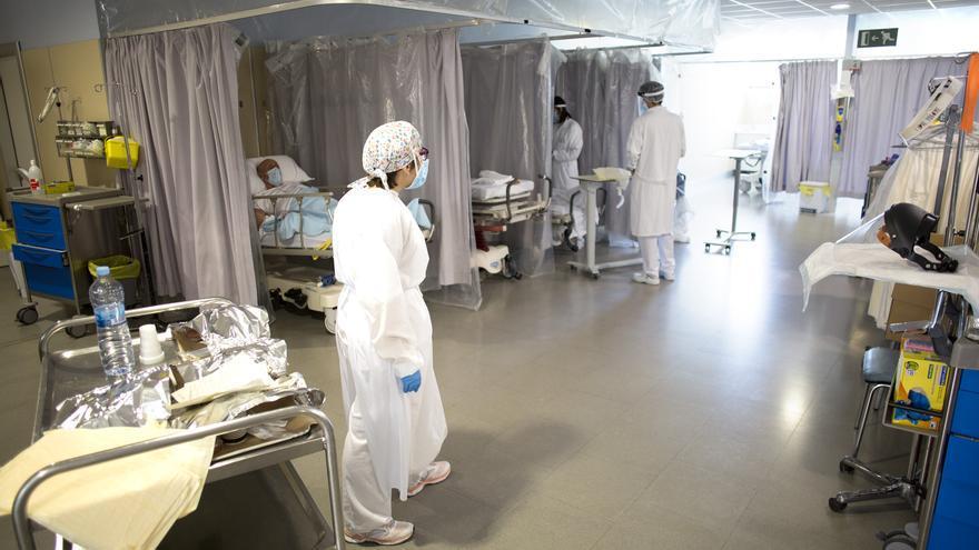 Tercera setmana sense cap defunció per Covid a l'Hospital de Figueres
