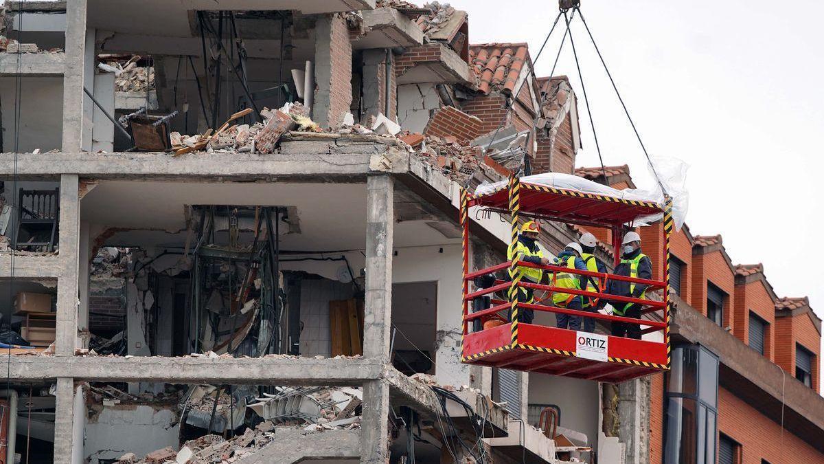 """El juez archiva la investigación sobre la explosión del edificio en Madrid al ser """"accidental"""""""