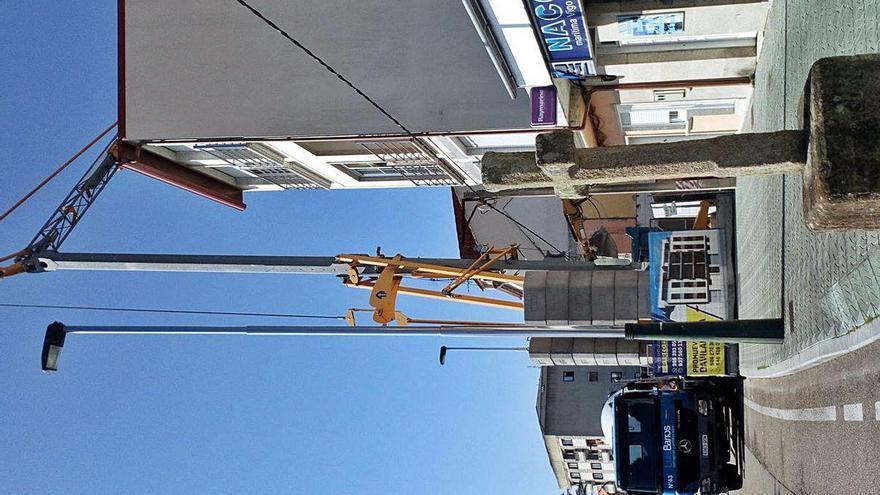 La construcción se mueve en Moaña