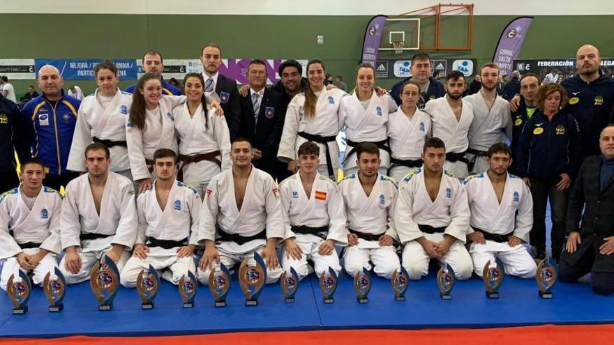 Asturias consigue catorce medallas en la fase de sector del campeonato de España senior