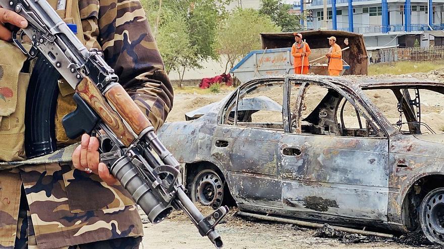 Els Estats Units intercepten cinc coets disparats contra l'aeroport de Kabul