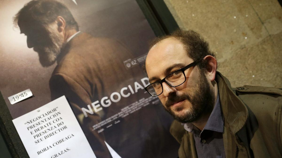 El director Borja Cobeaga.