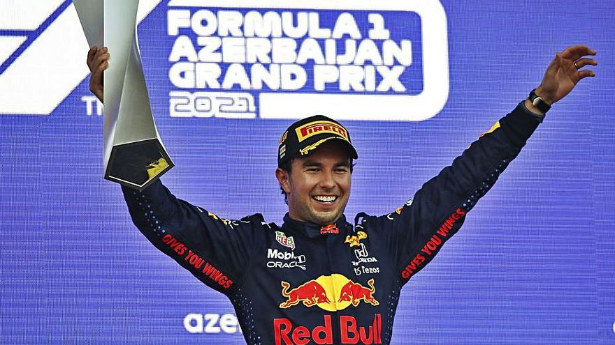 «Checo» Pérez venç en  l'accidentat GP d'Azerbaidjan