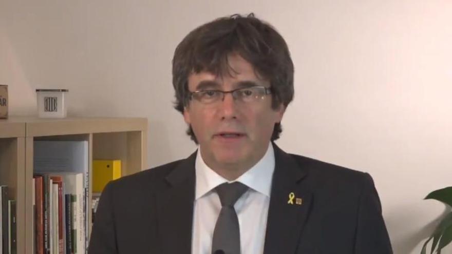 """Puigdemont qüestiona la """"voluntat d'escoltar"""" en invitació a Torra al Congrés"""