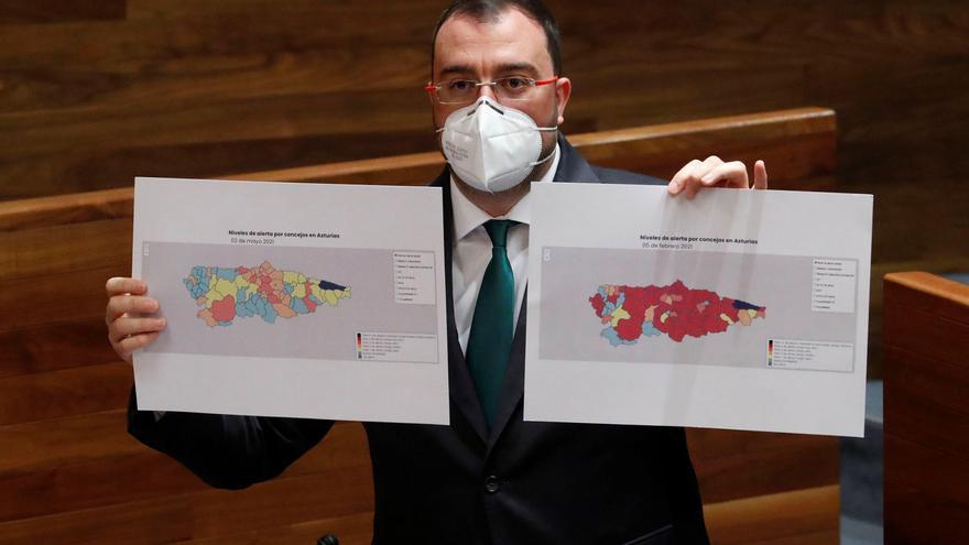 Las dos claves de Adrián Barbón para terminar con el paro juvenil en Asturias el día en que baja el desempleo