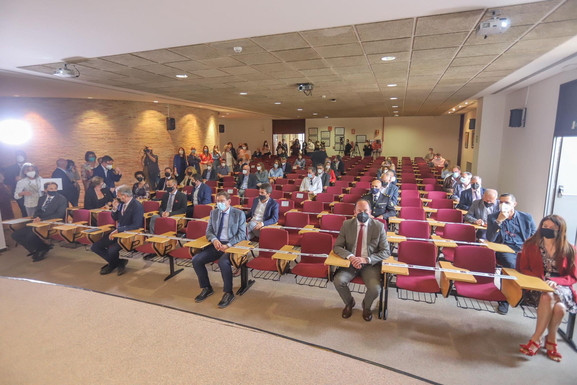 La UMH presenta en el campus de Orihuela el Centro de Investigación e Innovación Agroalimentaria y Agroambiental