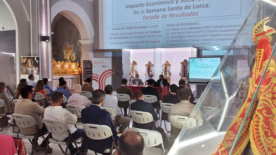 La Semana Santa de Lorca genera veinte millones de euros al año